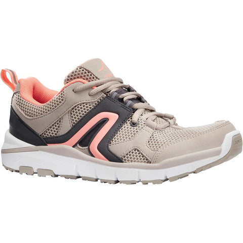 NEWFEEL - HW 500 Women's Fitness Walking Shoes - Beige