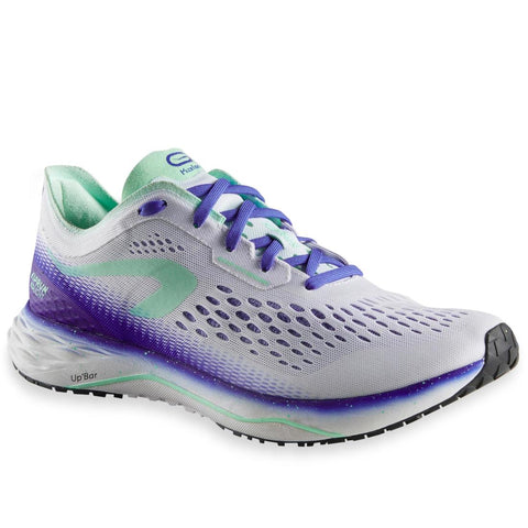 KALENJI - KIPRUN KD LIGHT WOMEN'S RUNNING SHOES - WHITE / BLUE