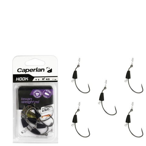 CAPERLAN - 'TEXAN WEIGHTED FISHING HOOK 4/0