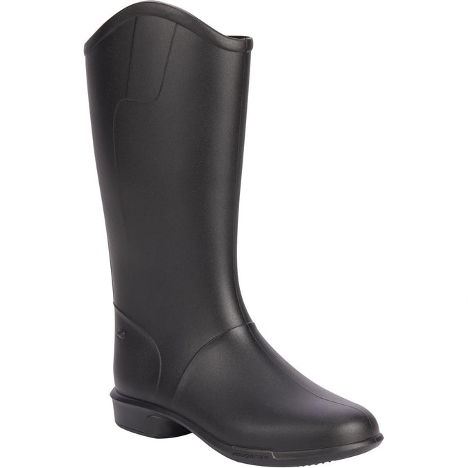 FOUGANZA - 100 Kids Beginners Horse Riding Boots, photo 1 of 13