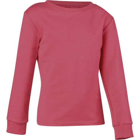 DOMYOS - 100 Girls' Gym Sweatshirt - Pink