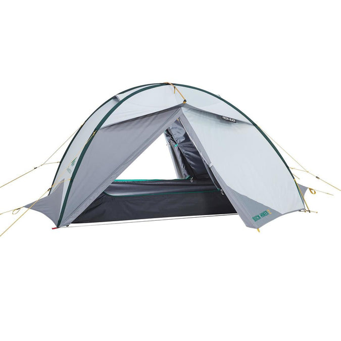 FORCLAZ - Quickhiker Fresh & Black Hiking  Tent 2 Person, photo 1 of 23