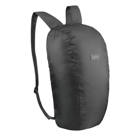 Travel Trekking Compact 10 Litre Backpack Travel 100 - Black