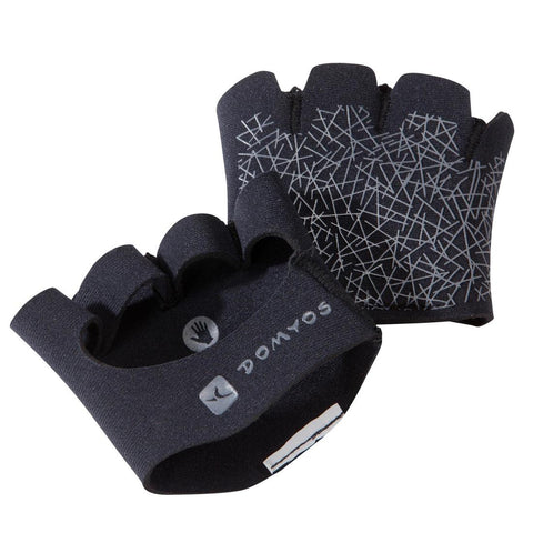 DOMYOS - Grip Pad Weight Training Strenghtening Gloves