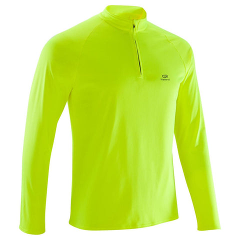 KALENJI - Run Warm Men's Long Sleeve Running Top