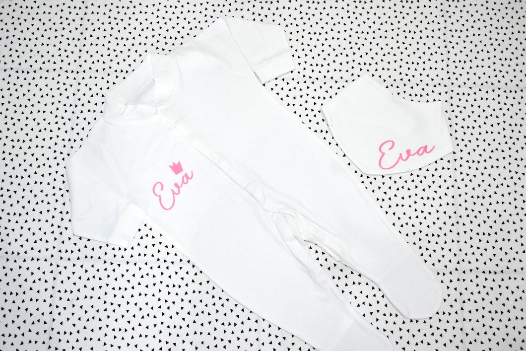 Sleepsuit & Bib Set