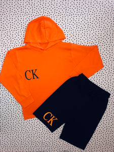 Hoody & shorts set