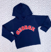 Load image into Gallery viewer, College cotton hoody