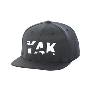 YAK Black/white lettering