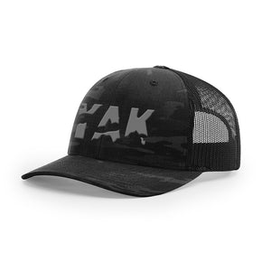 YAK Black Camo w/gray