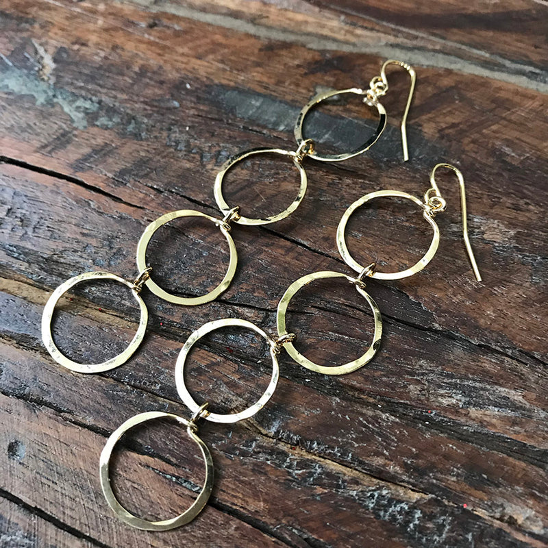 14k Gold Filled Sarah Earrings - Quick Ship