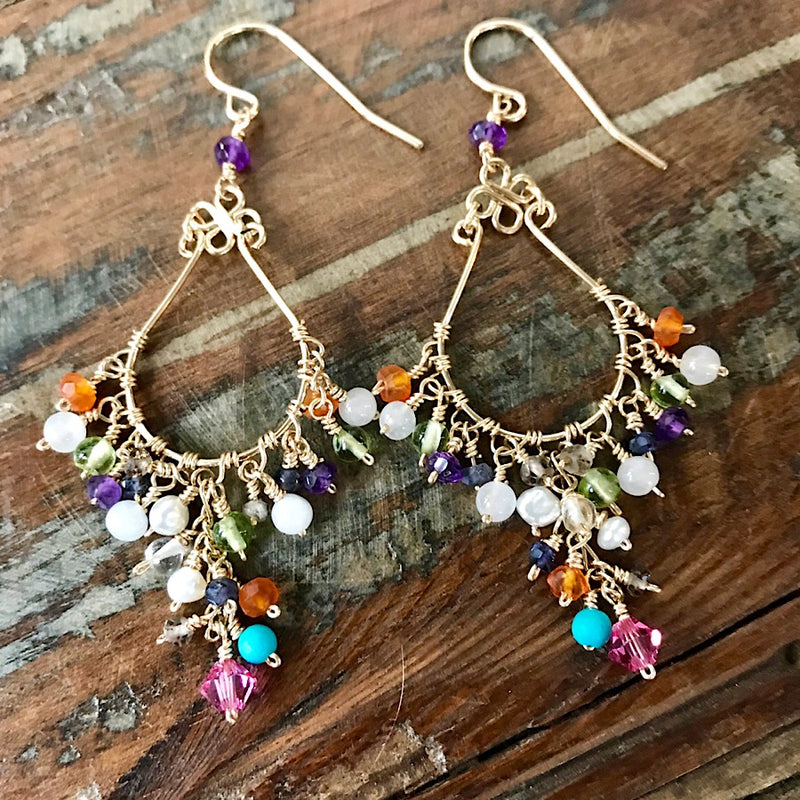 Spring Bauble Earrings - Quick Ship