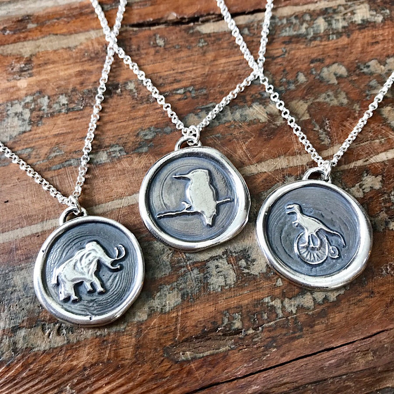Animal Pendants - Sterling Silver