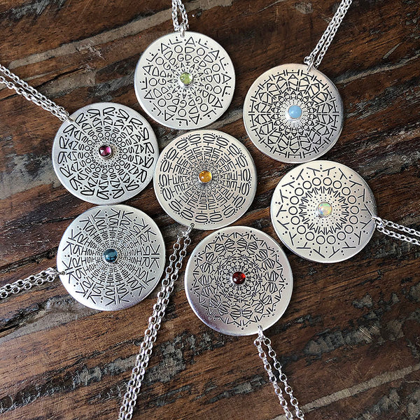 Jewel Namedala® - Mandala Name Necklace