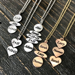 Me and Mine Necklace in Sterling and-or Gold
