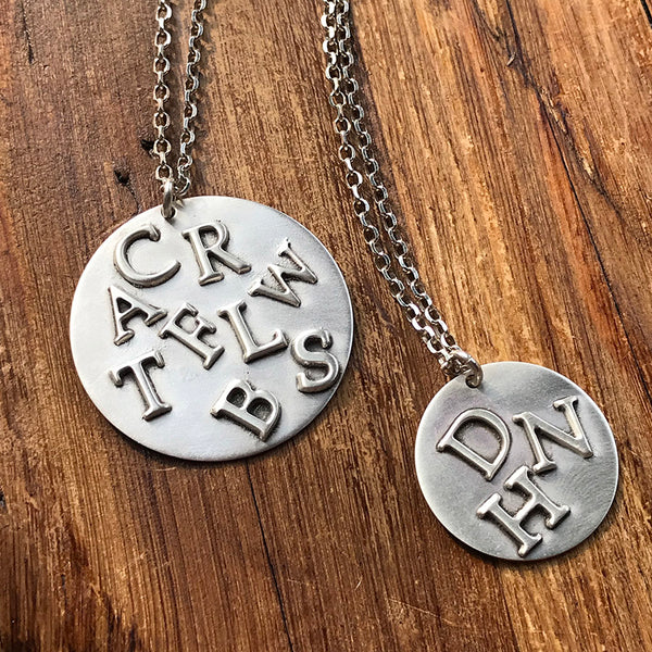 All Of Us Necklace - Sterling Silver