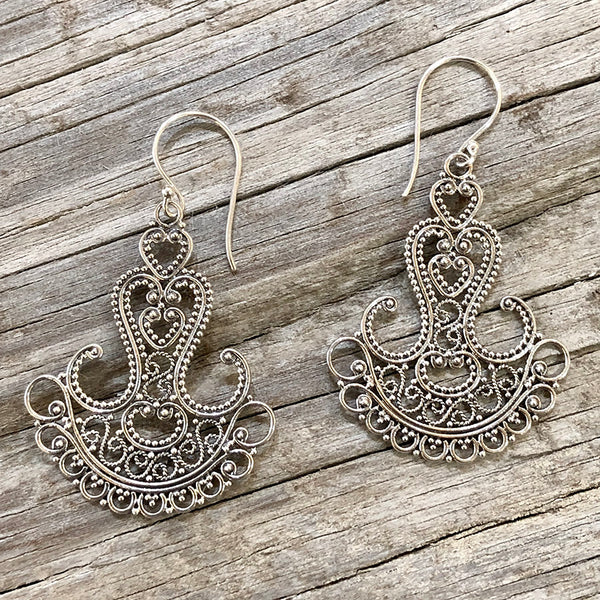 Amore Earrings - Sterling Silver - Quick Ship