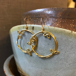 Antony Earrings - Gold Vermeil - Quick Ship