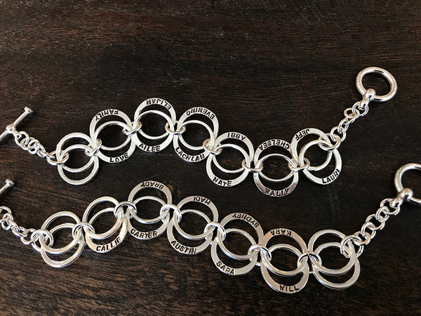Circles of Love Bracelet
