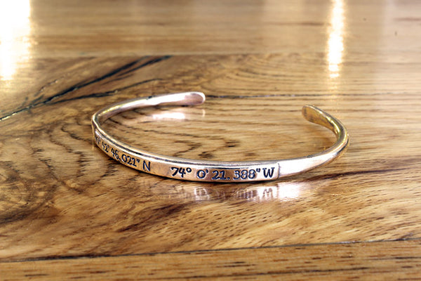 Travelers Bangle - Gold