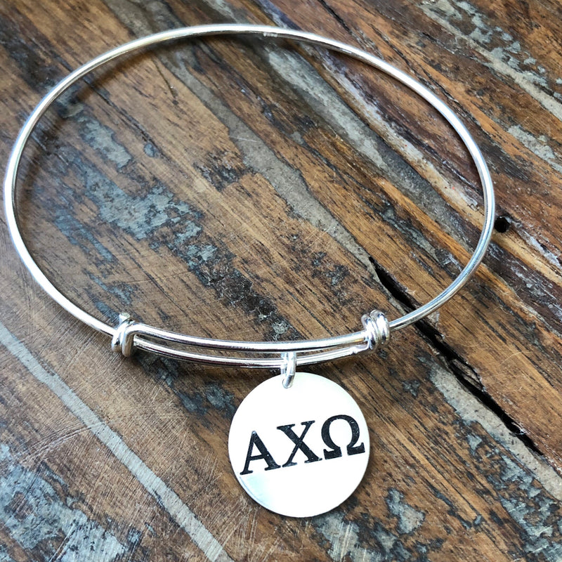 14k Gold Filled Greek Sorority Expandable Bracelet