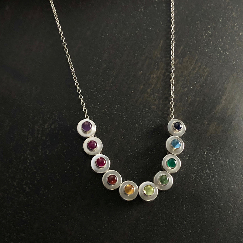 Tiny Baubles Gemstone Necklace