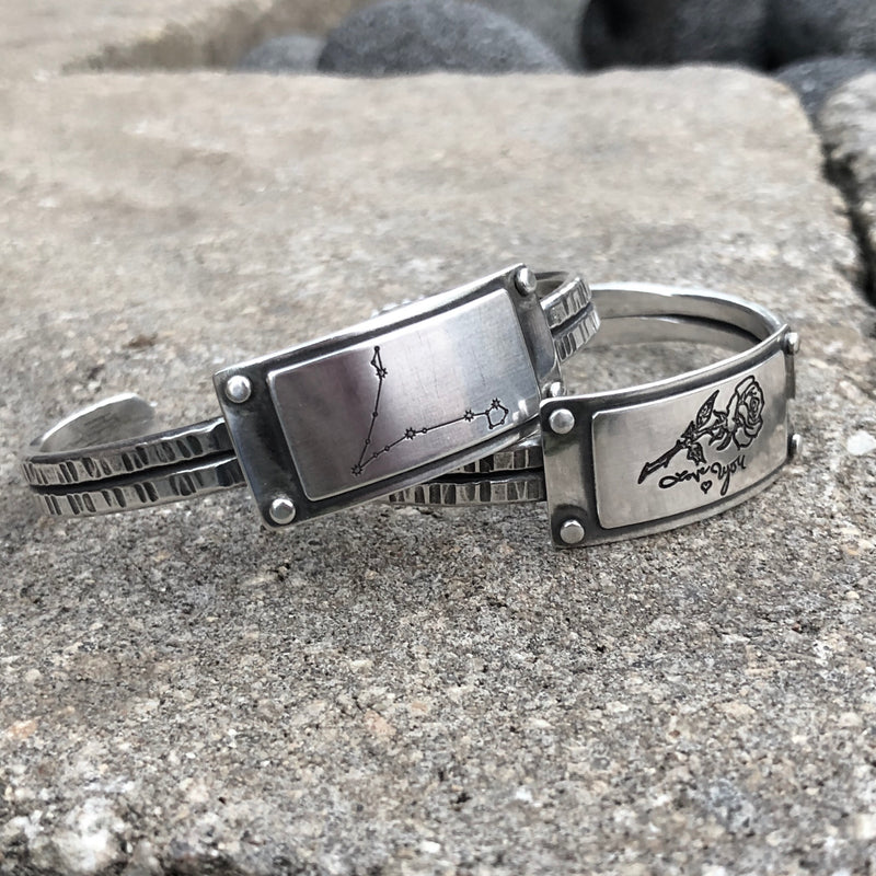 The Lauren Cuff - Sterling Silver