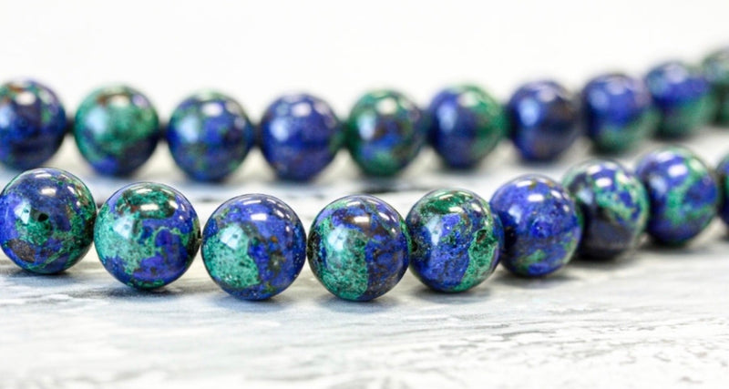Love and Latitude Azurite Necklace