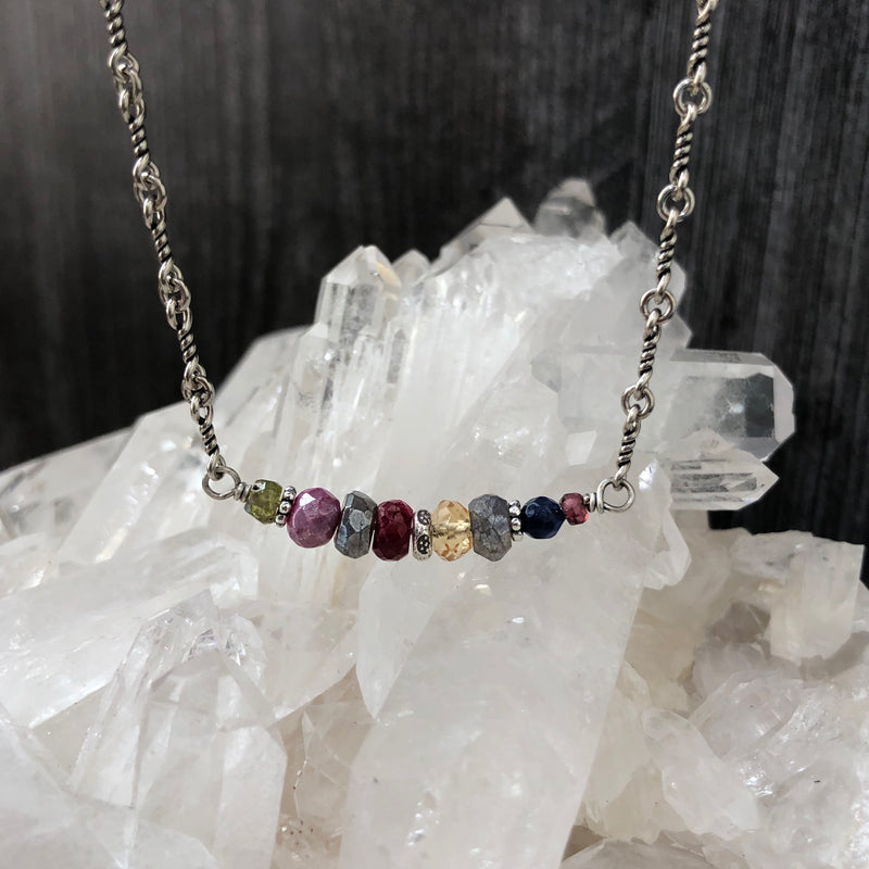 Tranquility Gemstone Necklace