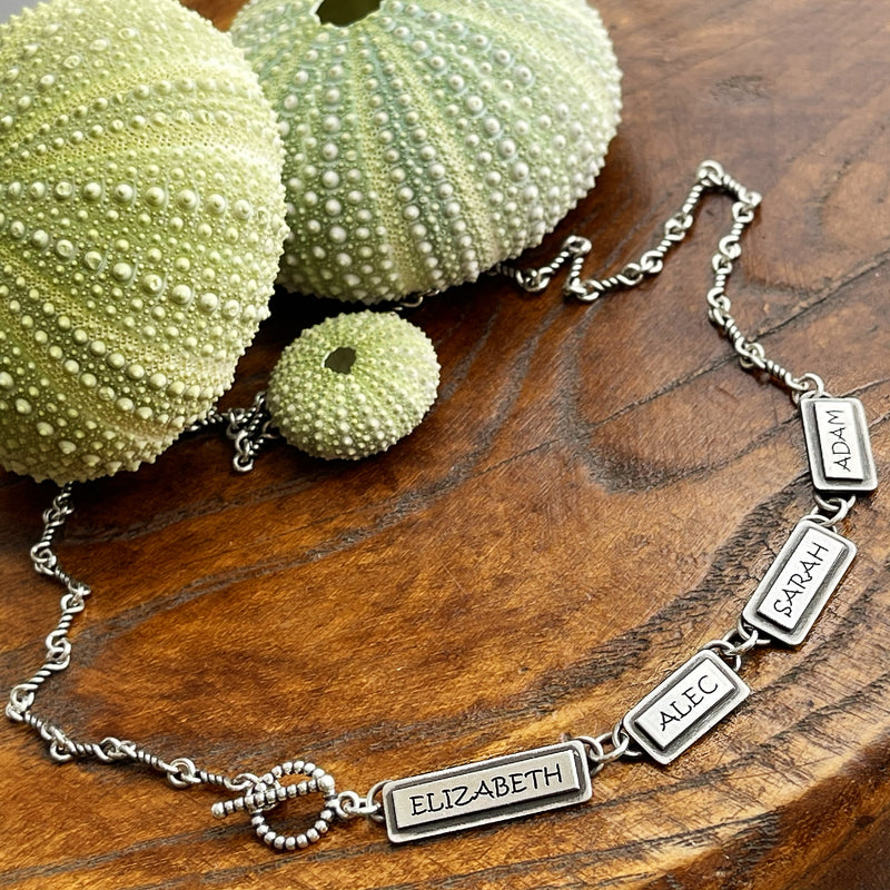 Say It On A Necklace - Sterling Silver
