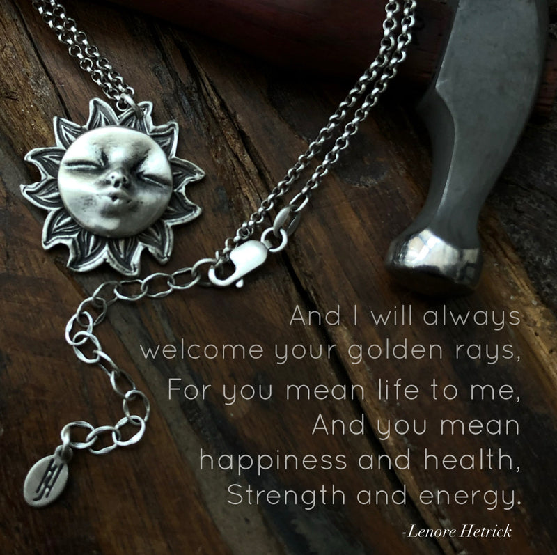 Sun Kissed Sterling Silver Necklace