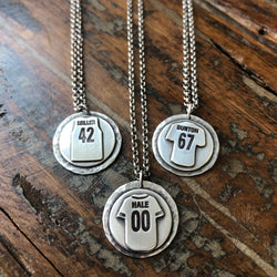 Sports Jersey Necklace