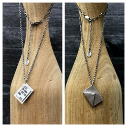 No Postage Needed - Sterling Silver Necklace