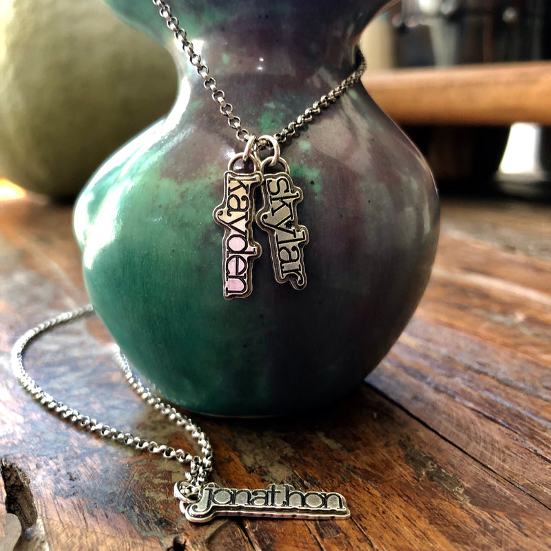 Say Anything Sterling Silver Necklace