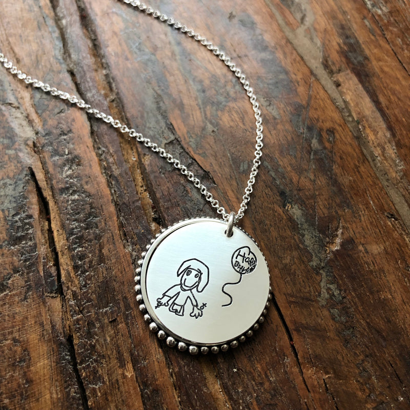 Kids Art Necklace