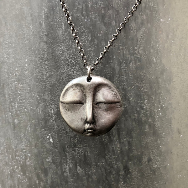 The Sterling Silver Zen Moon