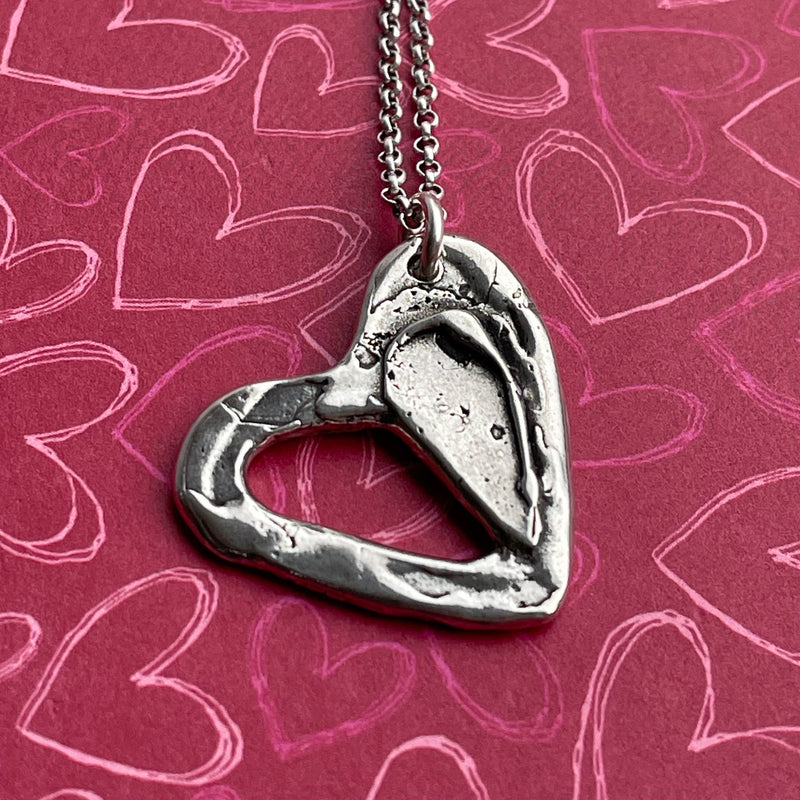 True Love Necklace- Sterling Silver