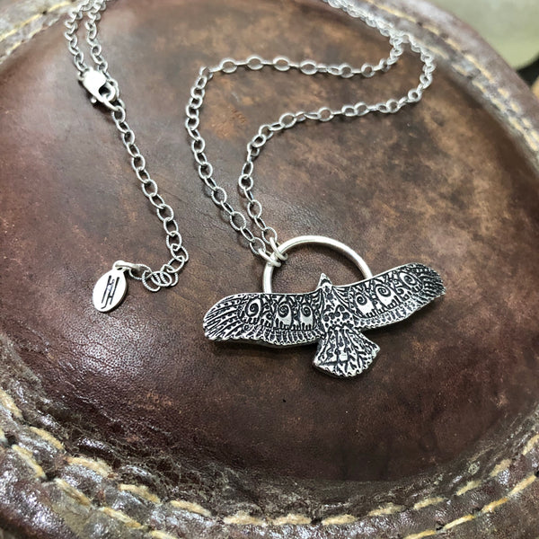 Sterling Silver Soaring Necklace
