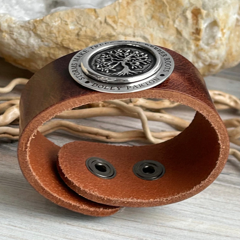 Dolly Leather Cuff