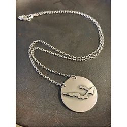 Sterling Lake Necklace