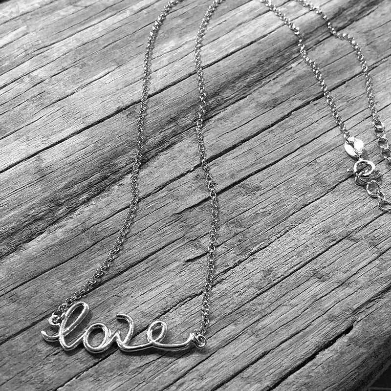 Love Necklace - Sterling Silver