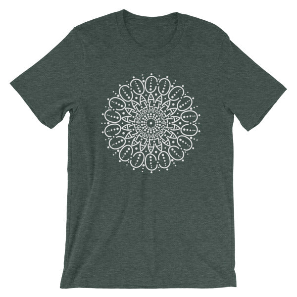 Calm Mandala Short-Sleeve Unisex T-Shirt