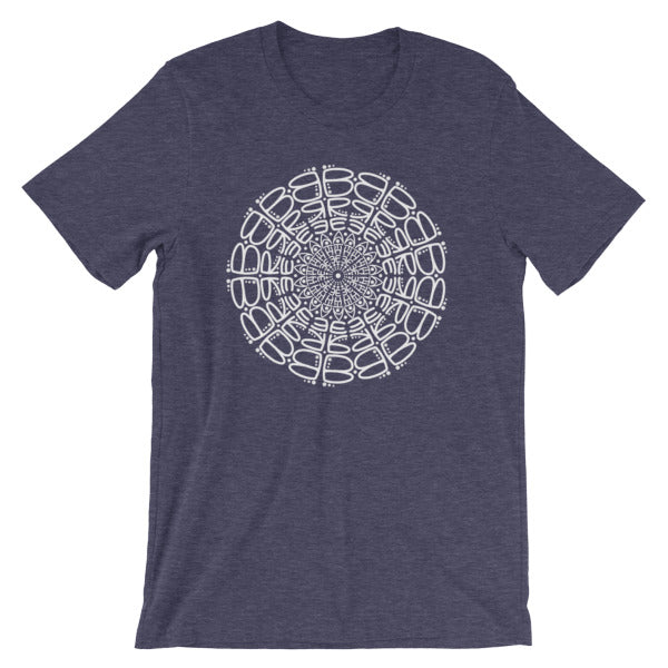 Breathe Mandala Short-Sleeve Unisex T-Shirt