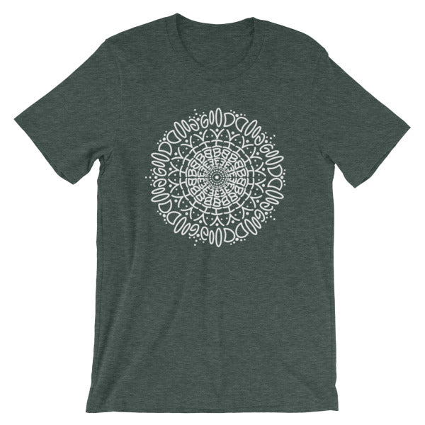 Good Vibes Mandala Short-Sleeve Unisex T-Shirt