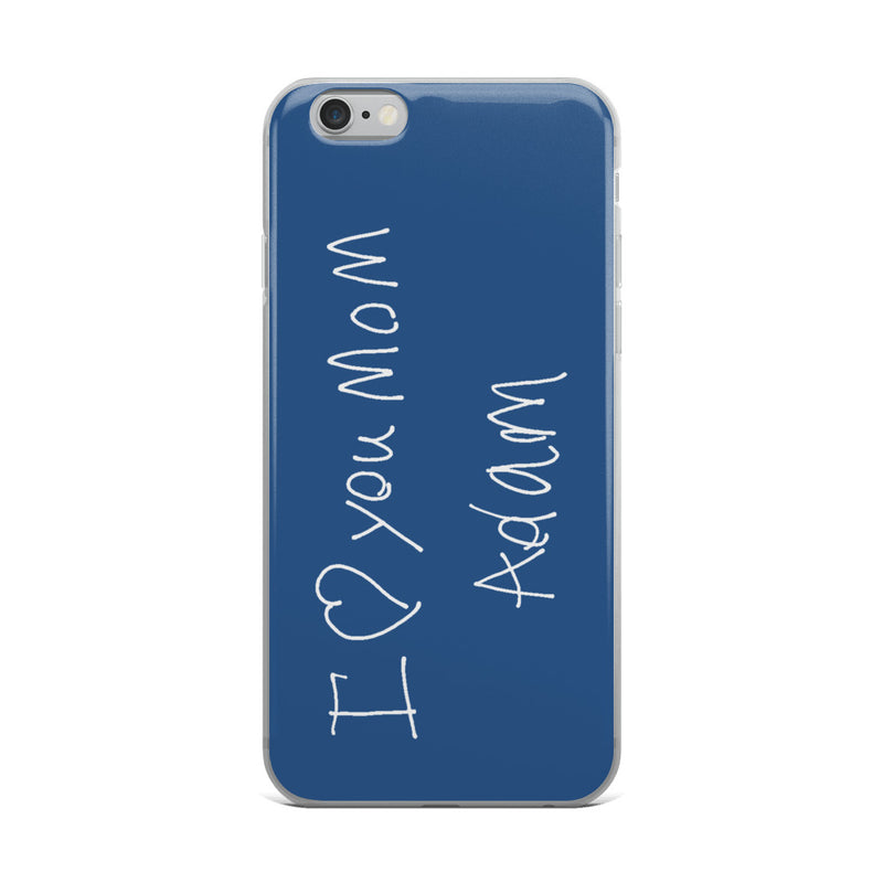 Handwritten iPhone Case