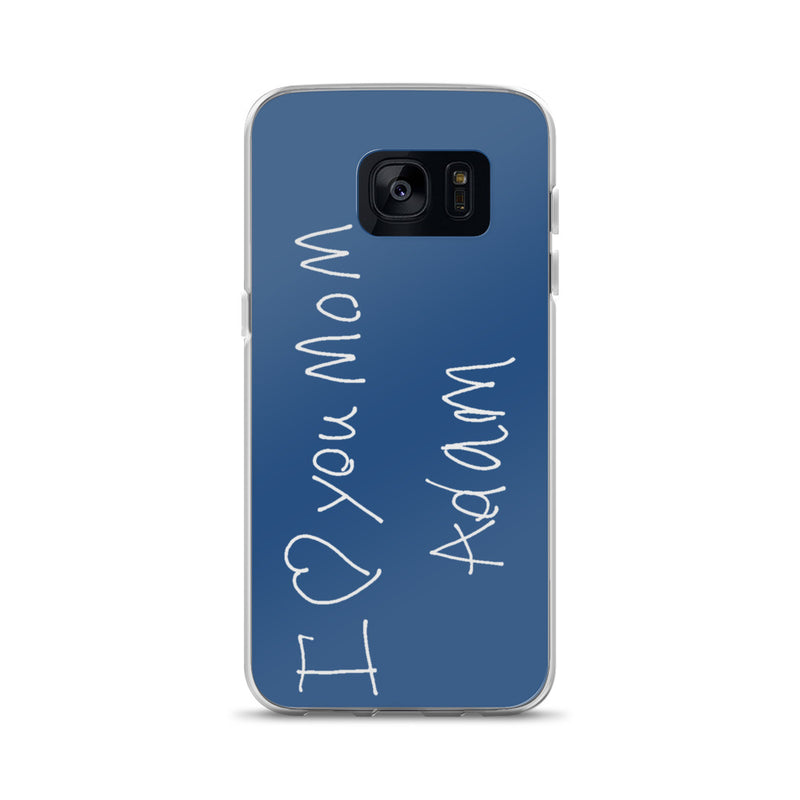 Handwritten Samsung Case