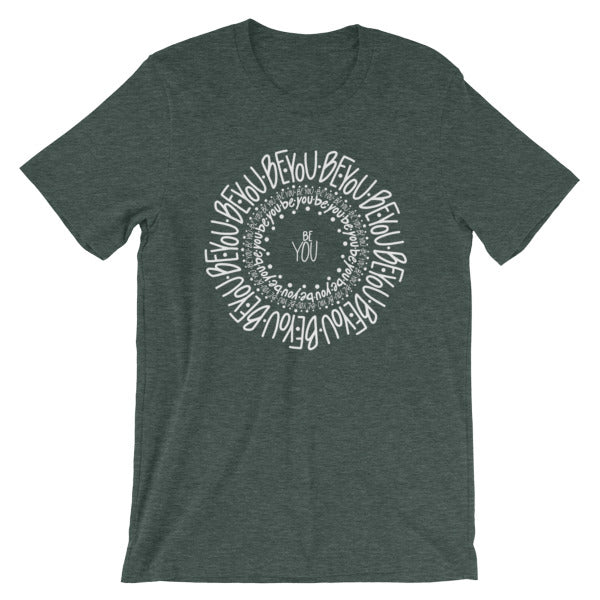 Be You Mandala Short-Sleeve Unisex T-Shirt