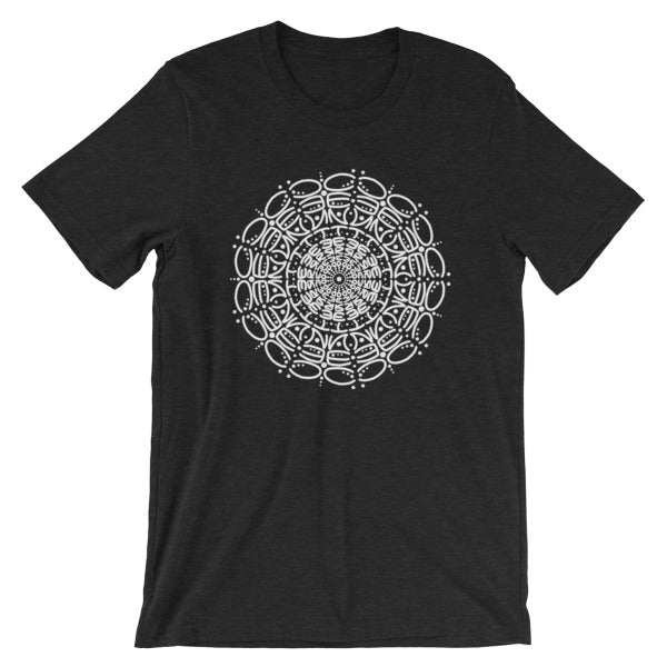 Centered Mandala Short-Sleeve Unisex T-Shirt