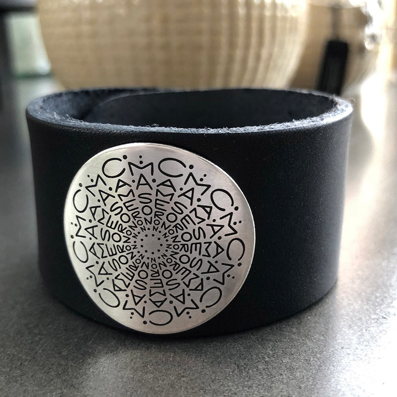 Namedala® Leather Cuff