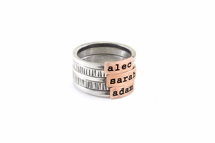Say It On A Ring® 2-tone